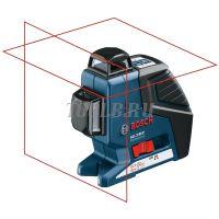 Лазерный построитель плоскостей  BOSCH GLL 2-80 P + вкладка под L-Boxx - купить в интернет-магазине www.toolb.ru цена и обзор