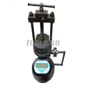 Пресс ПРГ-1-10 (10 кН/1т) с электронным манометром