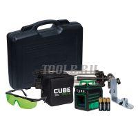 ADA CUBE 360 GREEN ULTIMATE EDITION - Лазерный нивелир - купить в интернет-магазине www.toolb.ru цена, обзор, характеристики, фото, заказ, онлайн, производитель, официальный, сайт, поверка, отзывы